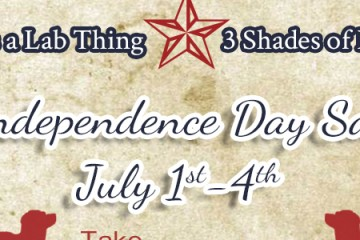 It's a Lab Thing 3 Shades of Dog July 4th Labrador Store Sale banner