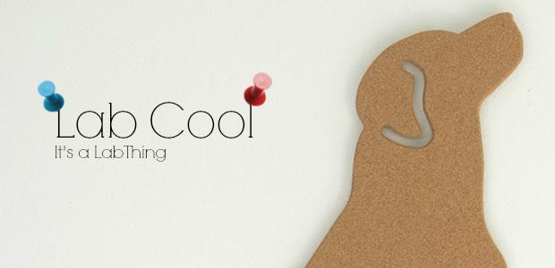 [Lab Cool] Labrador Cork Boards by getCork