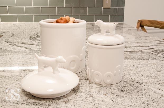 3 Shades of Dog Bowls Treat Jars -76