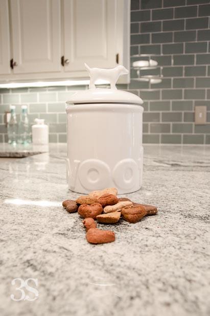 3 Shades of Dog Bowls Treat Jars -84