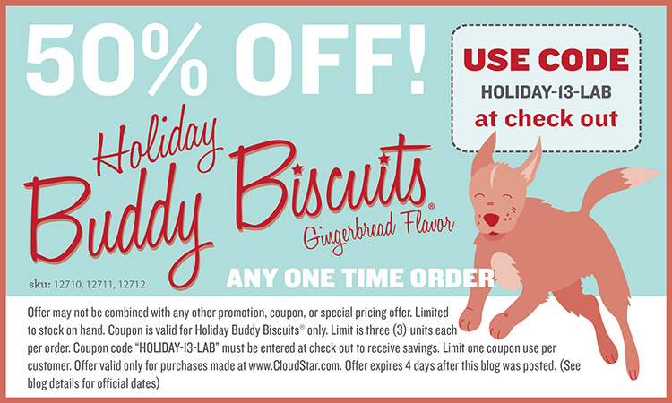 Cloudstar-holiday-dog-treats-Holiday-Coupon-LAB