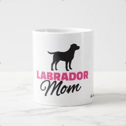 Labrador mom Coffee Mugs pink